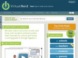 Virtual Nerd: Real help in math and science