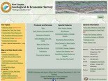 West Virginia Geological and Economic Survey (WVGES) Welcome Page