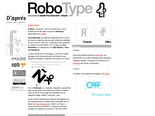 Robotype.net >> Design & Development: Inklude.com