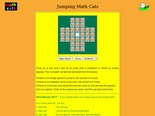 jumping math cats