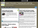 Higher Education Teaching and Learning