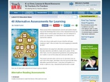 40 Alternative Assessments for Learning | TeachHUB