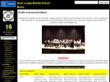 Buck Lodge Middle School Music