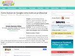 Cmo buscar en Google como todo un profesional