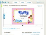 PD in PJs: Accessible Professional Development by Debby Dorough on Prezi