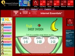 Math Games: Fruit Shoot Division