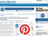 The 20 Best Pinterest Boards About Education Technology - Edudemic