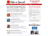 Learn Spanish with Notes in Spanish Podcasts! : Notes in Spanish   Learn Spanish with Podcast Audio Conversation from Spain.