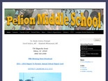 Pelion Middle School home