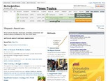 Hispanic-Americans - News - Times Topics - The New York Times