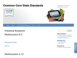 Professional Development | Common Core State Standards