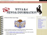 Wyoming Virtual Academy K-6 News and Information - WYVA K-6 Wiki Home Page