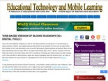 Web-based Version of Blooms Taxonomy (30+ digital tools ) ~ Educational Technology and Mobile Learning