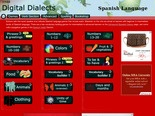 Spanish language learning games