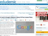 A Look At Google's Massive Library Of Free Lesson Plans - Edudemic