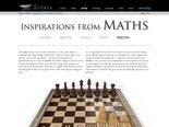 Inspirations from Maths