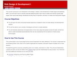 Web Design &amp; Development I