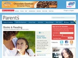 Scholastic has some great tips and articles for parents that help support literacy.