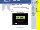 Fakebook: homepage. Create educational games and quizzes at classtools.net