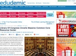 Library Of Congress Unveils Massive Common Core Resource Center - Edudemic