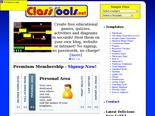 ClassTools.net: Create interactive flash  tools / games for education