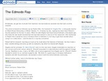 The Edmodo Rap | Edmodo - Safe Social Networking for Schools