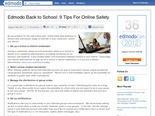 Edmodo Back to School: 9 Tips For Online Safety