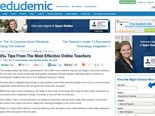 20+ Tips From The Most Effective Online Teachers