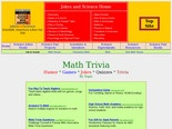 Mathematics Trivia: Humor, Games, Jokes, Quizzes, Fun and Trivia