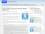Top Five Things to Know about Education Software Installer 2013