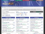 MathsKit - quick links to resources for Maths teachers