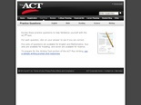 ACT Test Prep : Sample Tests