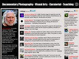 Tom R. Chambers - Documentary Photography, Visual Arts, Curatorial, Teaching