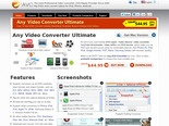 Video Converter, DVD Ripper - Any Video converter - The versatile video converter for iPod, iPhone, PSP, Zune, cell phones and more
