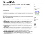 100+ Google Tricks That Will Save You Time in School – Eternal Code