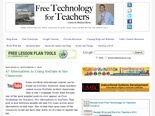 Free Technology for Teachers: 47 Alternatives to Using YouTube in the Classroom