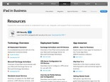Apple - iPad - iPad in Business - Resources