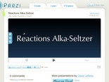 Réactions Alka-Seltzer by Claire Lafferty on Prezi
