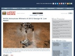 NASA Announces Winners of 2012 George M. Low Award