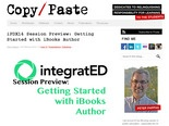 iPDX14 Session Preview: Get Started with iBooks Author