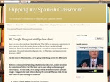 Flipping my Spanish Classroom: WL Google Hangout at #flipclass chat