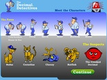 Decimal Detective... A SuperMath Game