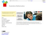 Illustrative Mathematics - lesson guidance for the Common Core