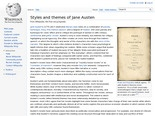 Styles and themes of Jane Austen - Wikipedia, the free encyclopedia