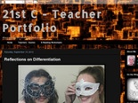 21st C - Teacher Portfolio: Reflections on Differentiation