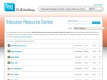 Educator Resource Center- Lessons