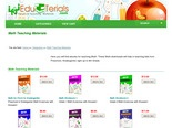 Teaching Materials for  Math & Education - Math Teaching Materials