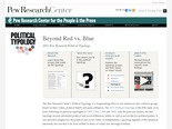 The 2011 Pew Research Political Typology | Pew Research Center for the People and the Press