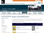 Northern Territory WWII Exhibition - NRETAS Internet Site