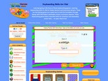 Keyboarding Games - Learning To Type - Levels 1-3 | Learning Games For Kids